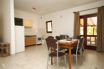 Tkon, Dining room in the apartment, dopusteni kucni ljubimci i WIFI.