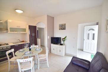 Preko, Jadalnia w zakwaterowaniu typu apartment, Dostępna klimatyzacja i WiFi.