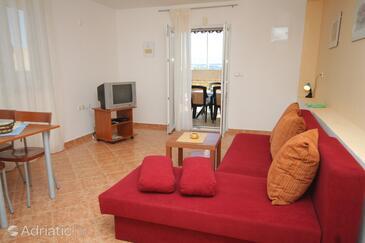 Preko, Гостиная в размещении типа apartment, Домашние животные допускаются и WiFi.