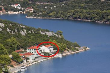 Pasadur, Lastovo, Property 8386 - Apartments by the sea.