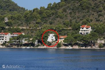 Pasadur, Lastovo, Property 8388 - Apartments by the sea.