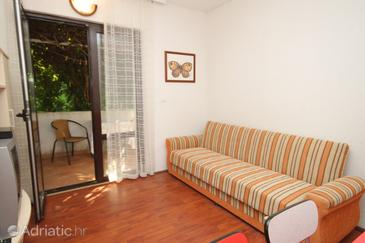 Pasadur, Living room in the apartment, dopusteni kucni ljubimci i WIFI.