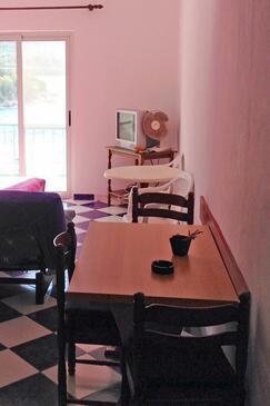 Pasadur, Jídelna v ubytování typu studio-apartment, WiFi.