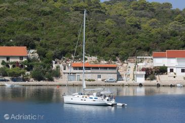 Pasadur, Lastovo, Property 8392 - Apartments by the sea.
