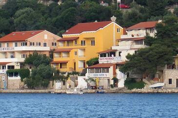 Zaklopatica, Lastovo, Szálláshely 8393 - Apartmanok a tenger közelében.