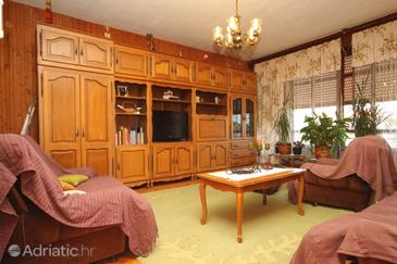 Ugljan, Living room in the apartment, dopusteni kucni ljubimci.