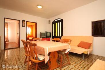 Ždrelac, Sala da pranzo nell'alloggi del tipo apartment, WiFi.