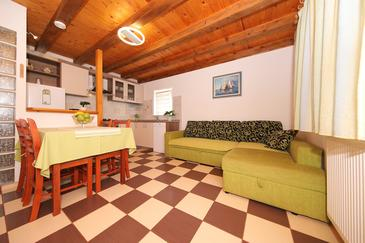 Donje More, Obývací pokoj v ubytování typu house, domácí mazlíčci povoleni a WiFi.