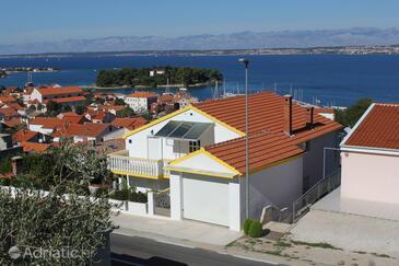 Preko, Ugljan, Objekt 8417 - Apartmani sa šljunčanom plažom.