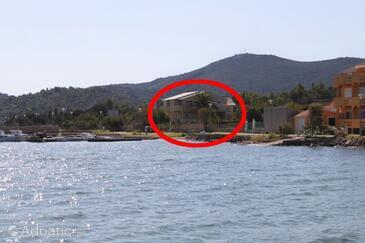 Ždrelac, Pašman, Property 8427 - Apartments by the sea.