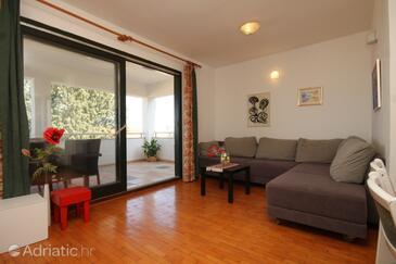 Preko, Living room in the apartment.