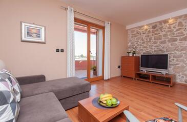 Poljana, Obývací pokoj v ubytování typu apartment, WiFi.