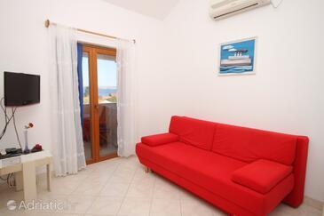 Preko, Гостиная в размещении типа apartment, доступный кондиционер и WiFi.
