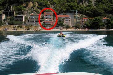 Podstrana, Split, Objekt 8442 - Ubytování v blízkosti moře s oblázkovou pláží.