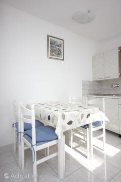 Vis, Jídelna v ubytování typu apartment, domácí mazlíčci povoleni a WiFi.