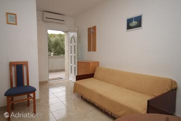 Mala Lamjana, Living room in the apartment, dostupna klima, dopusteni kucni ljubimci i WIFI.
