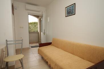 Mala Lamjana, Dnevna soba v nastanitvi vrste apartment, dostopna klima, Hišni ljubljenčki dovoljeni in WiFi.
