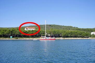Mala Lamjana, Ugljan, Objekt 8461 – Apartmaji v bližini morja.