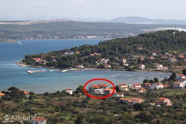 Mrljane, Pašman, Szálláshely 8464 - Apartmanok és szobák a tenger közelében.
