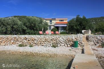 Soline, Pašman, Objekt 8482 - Ubytování v blízkosti moře s kamenitou pláží.