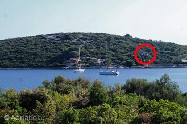 Lanđin, Pašman, Property 8500 - Vacation Rentals near sea with rocky beach.