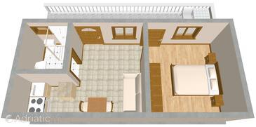 Drage, План в размещении типа apartment, Домашние животные допускаются и WiFi.