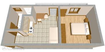 Drage, План в размещении типа apartment, WiFi.