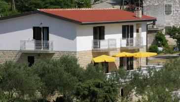 Drage, Biograd, Property 851 - Apartments near sea with pebble beach.