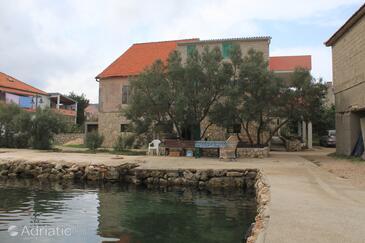Neviđane, Pašman, Szálláshely 8528 - Apartmanok a tenger közelében.