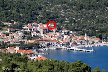 Vis, Vis, Property 8531 - Apartments with pebble beach.