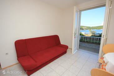 Vis, Living room in the apartment, dopusteni kucni ljubimci i WIFI.