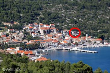 Vis, Vis, Property 8535 - Apartments near sea with pebble beach.