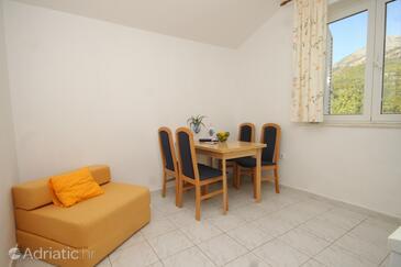 Slano, Dining room in the studio-apartment, WIFI.