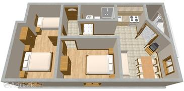 Drage, Plan in the apartment, WIFI.