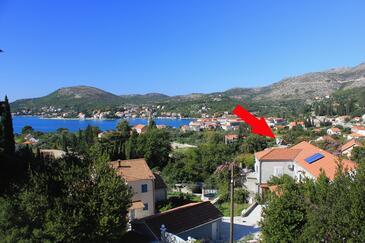 Slano, Dubrovnik, Objekt 8540 - Ubytování s oblázkovou pláží.