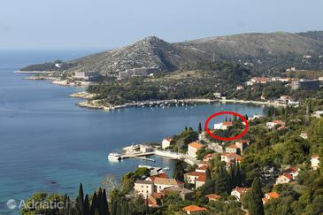 Mlini, Dubrovnik, Property 8571 - Apartments near sea with pebble beach.