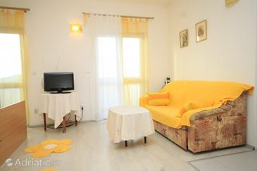 Dubrovnik, Living room in the studio-apartment, WIFI.