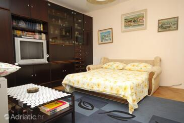 Dubrovnik, Living room in the apartment, dostupna klima i dopusteni kucni ljubimci.