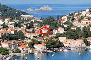 Dubrovnik, Dubrovnik, Objekt 8593 - Ubytování s oblázkovou pláží.