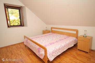 Trsteno, Спальня в размещении типа room, доступный кондиционер.