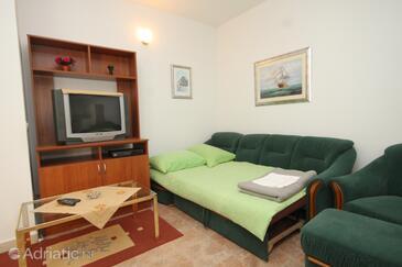 Zaton Veliki, Living room in the apartment, WIFI.