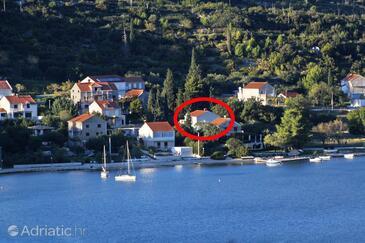 Slano, Dubrovnik, Объект 8599 - Апартаменты вблизи моря с галечным пляжем.