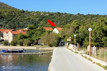 Slano, Dubrovnik, Объект 8608 - Апартаменты вблизи моря с галечным пляжем.