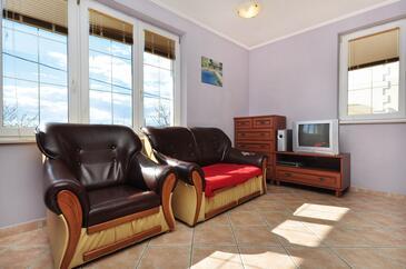 Podstrana, Living room in the apartment, WIFI.