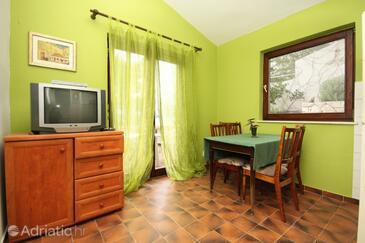 Rastići, Jídelna v ubytování typu apartment, domácí mazlíčci povoleni a WiFi.