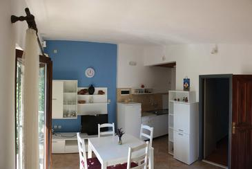 Rastići, Dining room in the apartment, air condition available, (pet friendly) and WiFi.