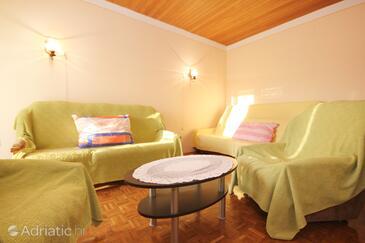 Kaštel Štafilić, Obývacia izba v ubytovacej jednotke apartment, WiFi.