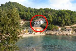 Seaside secluded apartments Cove Torac (Hvar) - 8653