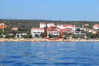 Apartments by the sea Mandre (Pag) - 8655