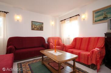 Mavarštica, Living room in the apartment, dostupna klima, dopusteni kucni ljubimci i WIFI.